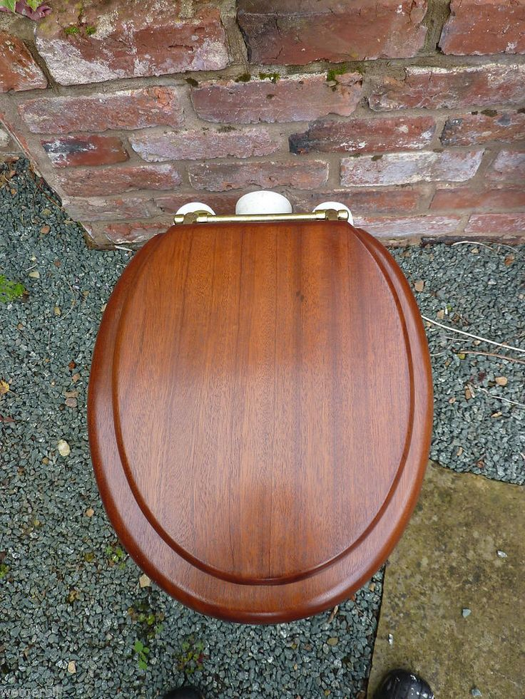 Don't Know vintage toilet seat looking