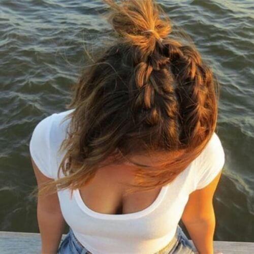 50 französische Braid Frisuren #braid #franzosische #frisuren