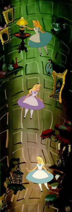 Alice in Wonderland. It's one of my favorite Disney movies if not