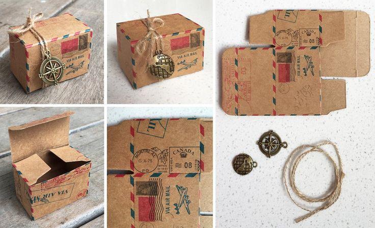 Airmail Favour Box