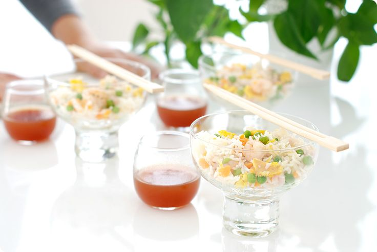 Arroz tres delicias con salsa de soja de Velocidad Cuchara