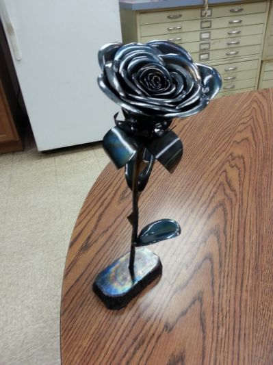 Cool simple welding projects related metal art pinterest welding projects and metal projects - Simple metal art projects ...