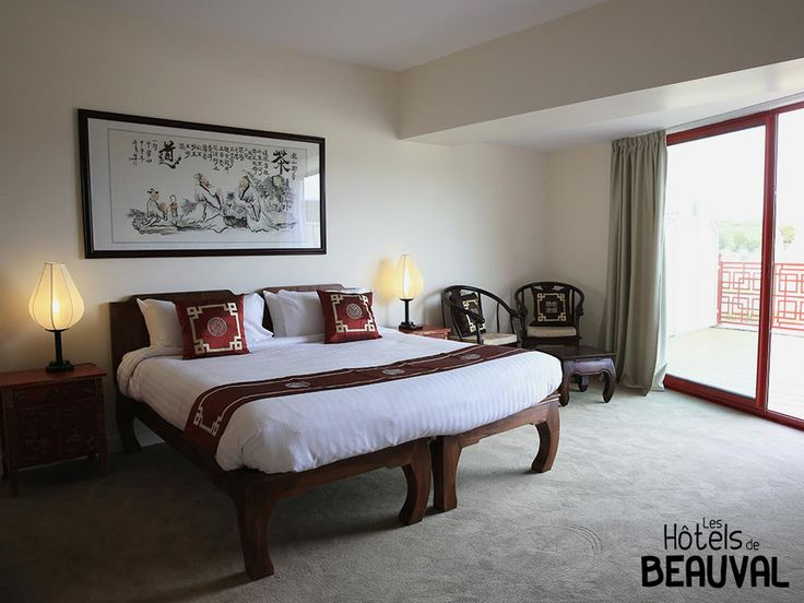 H tel les pagodes de beauval chambre sup rieure h tel for Hotels de beauval