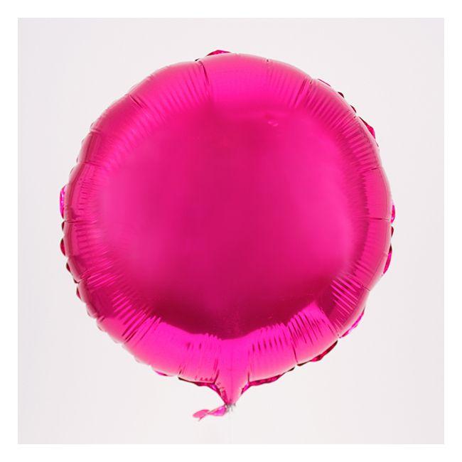 Ballon mylar pastille rose fuchsia