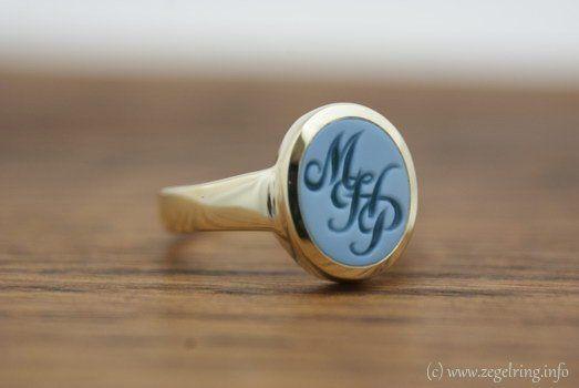Signet ring (www.signetring.eu | www.zegelring.info) - Ring graveren lagensteen mhp (www.zegelring.info)