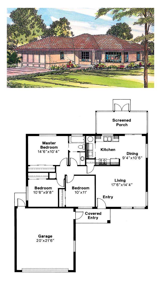 50 best southwest house plans images on pinterest floor plans ranch southwest house plan 69346