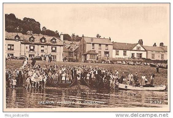 Salmon fishing at Shaldon