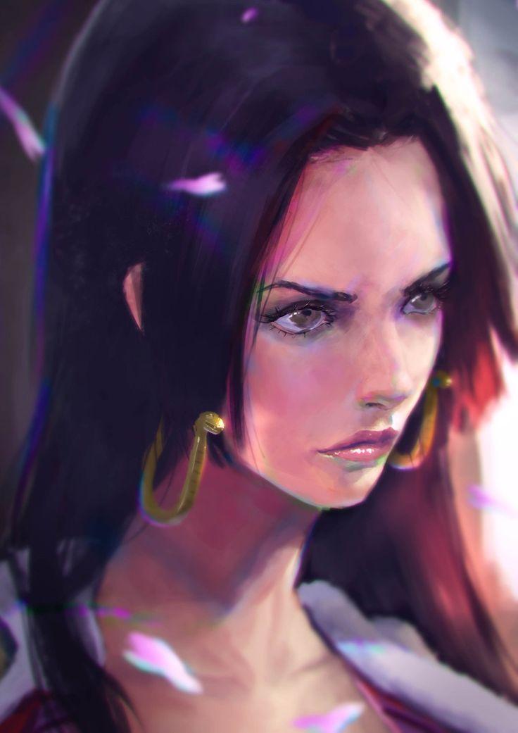 Boa Hancock by DigitalSashimi                                                                                                                                                     Mais