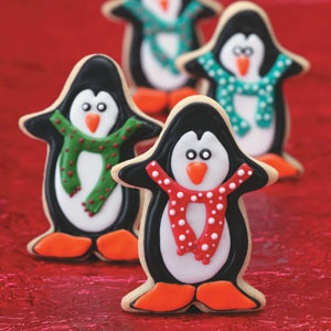 Penguin cutouts.