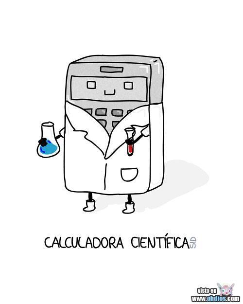 Calculadora científica... (adjectivos)