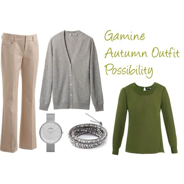 """""""Gamine Autumn Outfit Possibility"""" by jeaninebyers on Polyvore"""