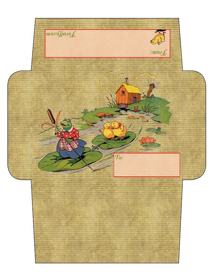 Chicks envelope for Easter :)
