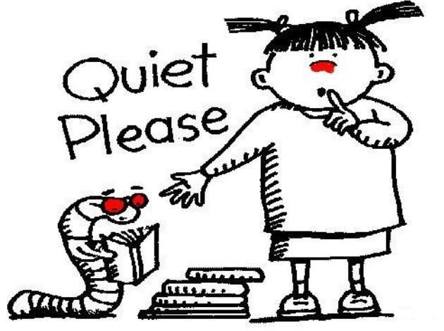 Be quiet please