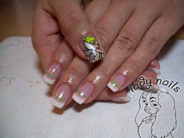 426 best nails images on pinterest nail design cute nails and 16 examples of disney nail art that will render you speechless prinsesfo Images