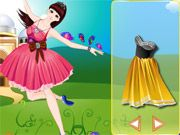 Free Online Girl Games, This lovely princess has decided to spend her day dancing in the fields!  In Dancing Princess with Butterflies, you can dress this young girl in the finest dresses and accessories!  See what type of magical luck you can create!, #princess #dressup #girl