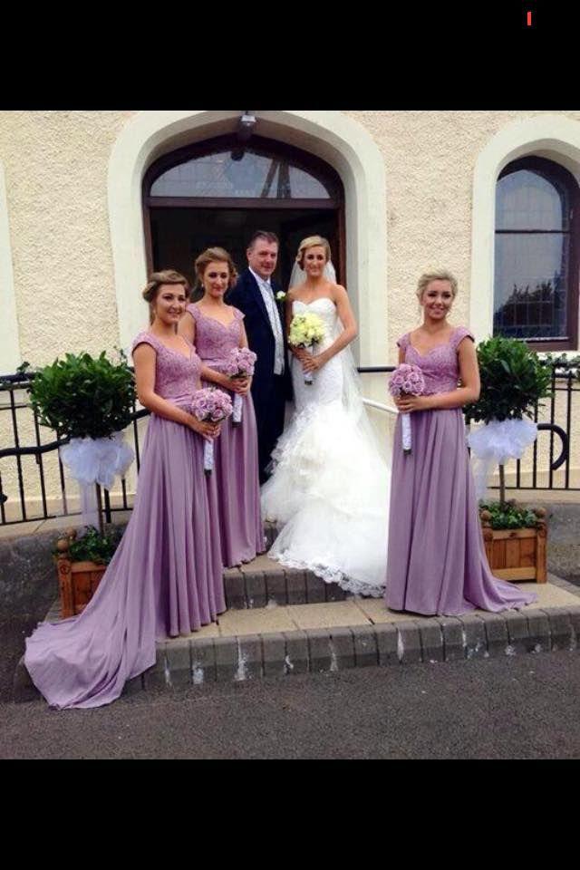 Lace Chiffon Green Bridesmaid Dresses Ilusion Cap Sleeves Key Hole