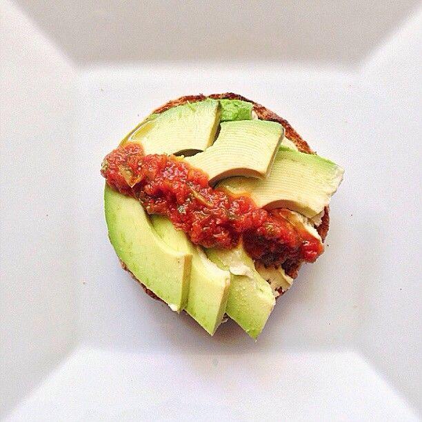 5 Min Southwestern Style Open Faced Sandwich via Linda Wagner