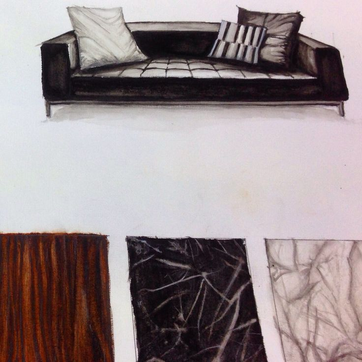 Erican College Assignment Rendering 1 Interior Design Students Watercolor Limhueichen Kuala Lumpur