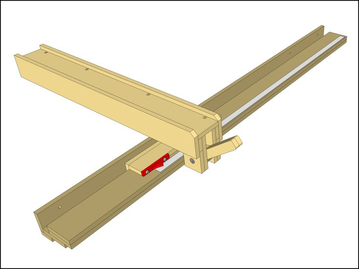 Wooden table saw fence plans pinterest for Table saw fence