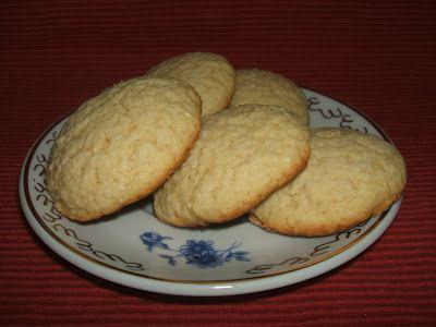 Citromos - kókuszos keksz