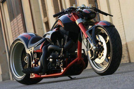 """Tuning Harley-Davidson V-Rod """"The one"""". #harleydavidsoncustommotorcyclesvrod"""