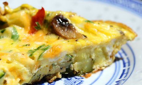 Zucchini frittata | Breakfast/brunch | Pinterest