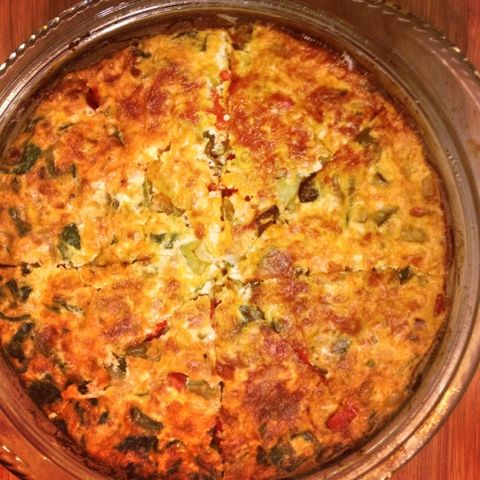 ... Gym | Healthy and Delicious Mexican Frittata at 87 calories per slice