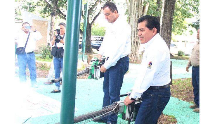 TULUM SE SUMA A LA MEGA CAMPAÑA DE NEBULIZACIÓN CONTRA EL DENGUE Y CHIKUNGUNYA