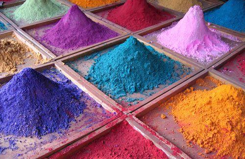 Le tinte naturali per i tessuti