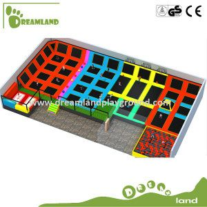 2015 Hot Sale Newest Style High Quality Large Indoor Used Trampolines for Sale on Made-in-China.com