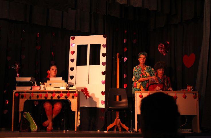 Festival de théâtre amateur d'Esprit-Saint, les 29, 30 et 31 août 2014. Présentation de la Pièce Coeur en chômage par la troupe de Théâtre de Lotbinière.