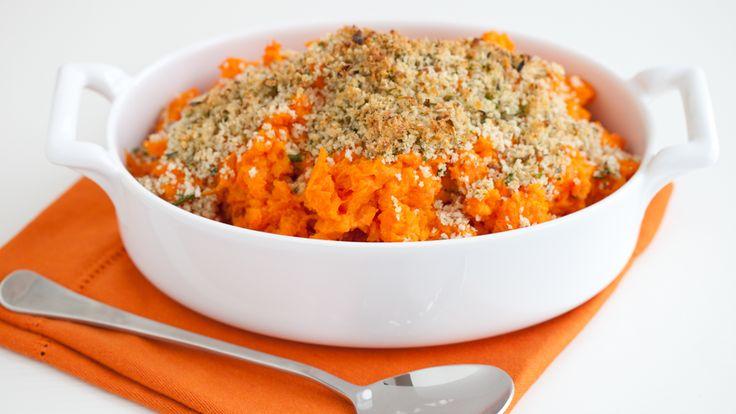 Casserole d'igname et de carotte