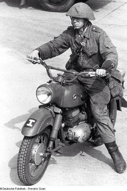 MZ c 1956 DDR Military
