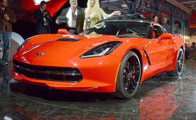 chevrolet corvetteCorvette Stingray 2014 Orange