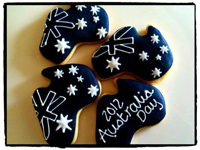 Australia Day cookies! by mylittlemod, via Flickr