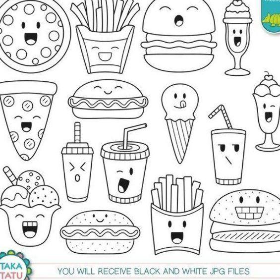 Pin On Food Drawing