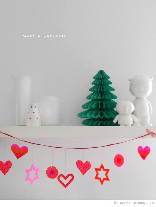 MAKE IT :: 5 DECORATION IDEAS USING HAMA / PERLER BEADS