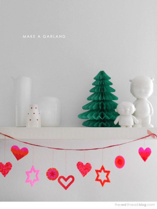 MAKE IT :: 5 decoration ideas using Hama / Perler beads   The Red Thread