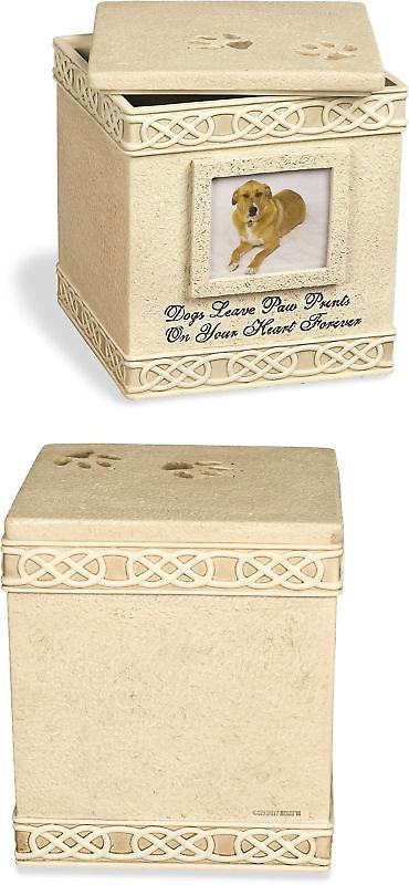 Pet Memorials and Urns 116391: Angelstar 6-Inch Pet Urn For Dog Light Brown -> BUY IT NOW ONLY: $34.5 on eBay!