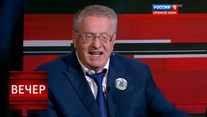 """Запоминающееся выступление Жириновского: """"Не пить, не курить и никакого ..."""