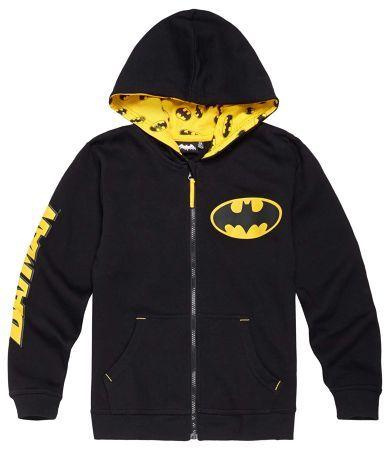 Batman Sweat zippé noir