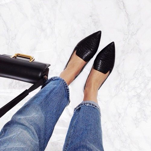Make Your Point: These 13 Pointed Toe Flats Will Upgrade Your Shoegame