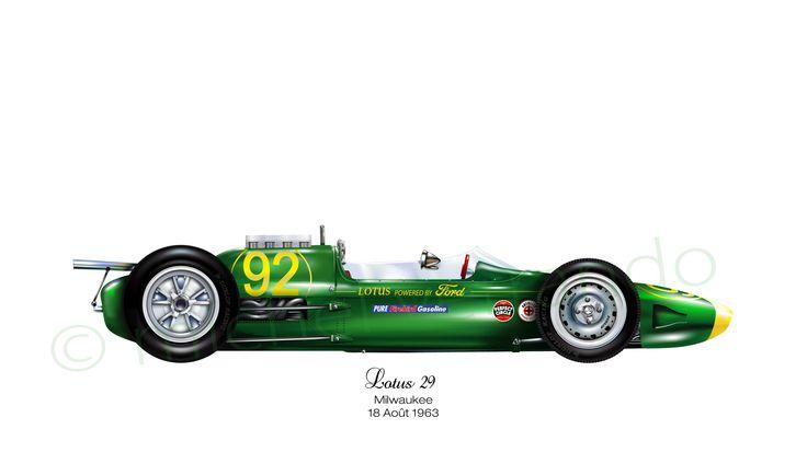 Lotus 29 - Indianapolis - 1963
