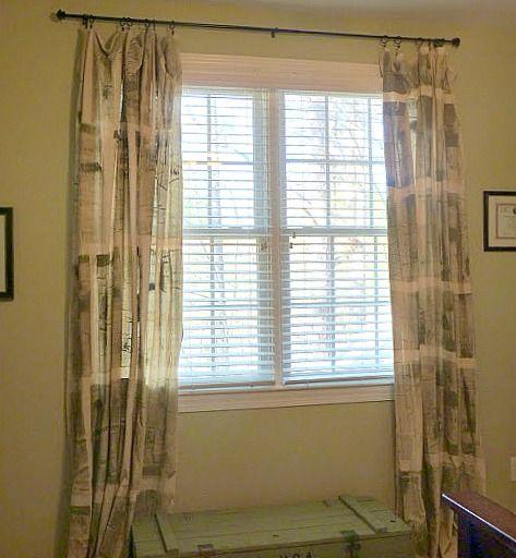 diy painter tarps curtains paint cloth