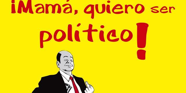 """¿Cuántos políticos no han trabajado nunca en el sector privado? ¿Quién dijo """"Estoy en política para forrarme""""? ¿Qué carrera garantiza un puesto en la vida política? ¿Cuál es la familia que lleva 140 años en el poder? ¿Qué político ha enchufado a 200 familiares y amigos? ¿Por qué contrataron como albañiles a la plantilla de un equipo de fútbol de un ayuntamiento de Sevilla? ¿Sabe cuántos retratos de políticos ha pagado usted? ¿Dónde cree que puede acabar una profesora de danza: en un teatro o…"""