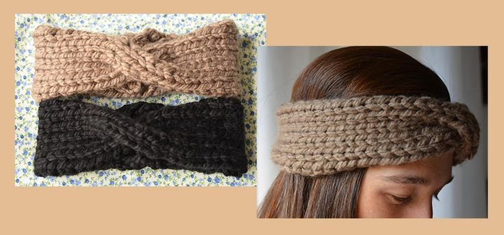 Entre puntos y puntadas: Orejeras estilo turbante