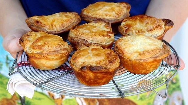 Kate Gibbs' beef and beer meat pie.
