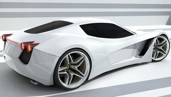 Ferrari-365-Turin: 365 Turin, Turin Concept, White Cars, Ferrari 365, Riding, Design Study, Cars, White Hors, Concept Cars
