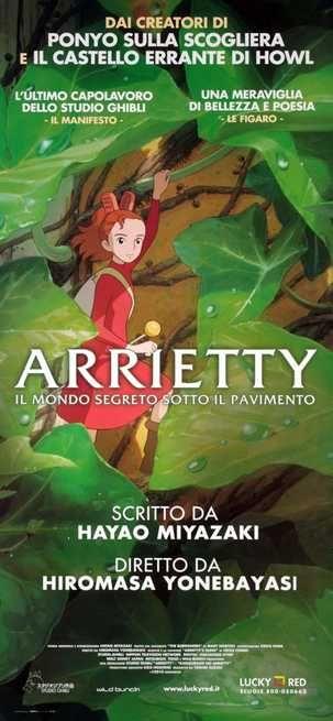 Scheda film Arrietty (2010)  | Leggi la recensione, trama, cast completo, critica e guarda trailer, foto, immagini, poster e locandina del film diretto da Hiromasa Yonebayashi con