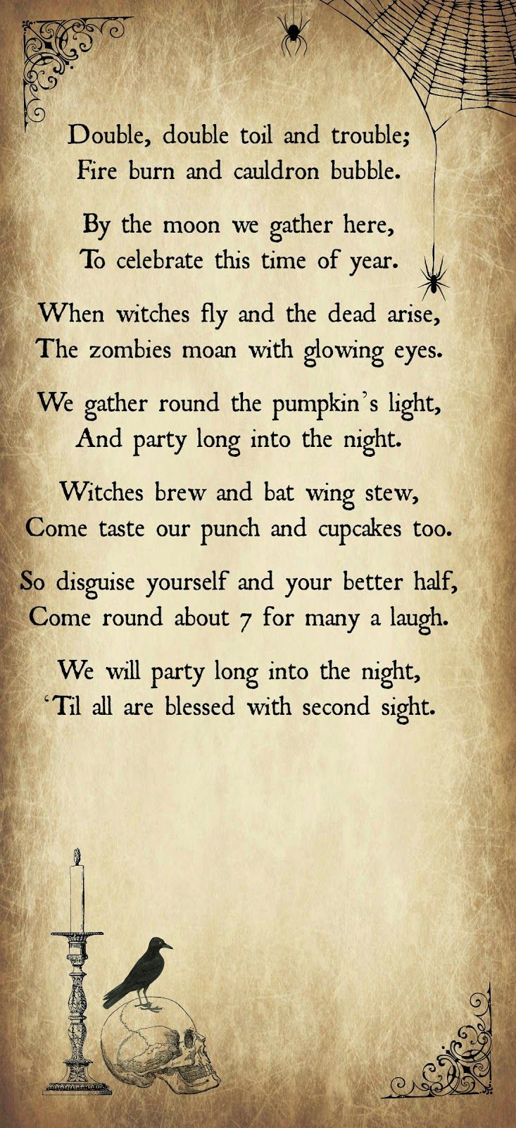 Best 25+ Halloween poems ideas on Pinterest | Halloween printable ...